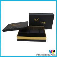 China Personal Customized Foiled Printed Paper Packaging Boxes with Devider on sale