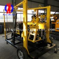 China XYX-130 wheeled hydraulic water well drilling rig/easy to move and widely applicable wholesale