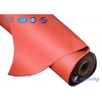 China 920mm Fireproof Silicone Coated Fiberglass Fabric 1500g/m2 wholesale