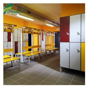China color mixed anti bacterial school student locker 2 tier locker on sale