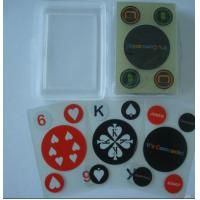 China 100% Plastic Playing Cards wholesale