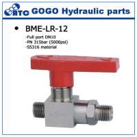 China High Pressure Stainless Steel Ball Valve With Locking Handle , 2 Npt Solid Modulating wholesale