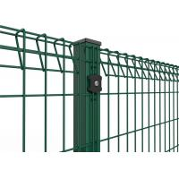 China Security Welded 3D Curvy Wire Mesh Fence Panels PVC Coated 2.0-4.0mm Wire Gauge wholesale