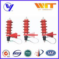 China Silicone / Rubber / Polymer Surge Arrester With KEMA Report For Power Transmission wholesale