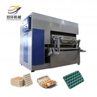 China Paper Egg Tray Manufacture Machinery Molding   Egg Tray Making Machine Price on sale