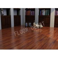 China Commercial HDF Wood ECO Laminate Flooring AC4 E1 Embossed Cherry Color Office wholesale