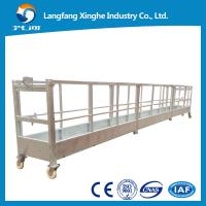 China zlp800 suspended working platform / electric gondola platform / suspended cradle wholesale