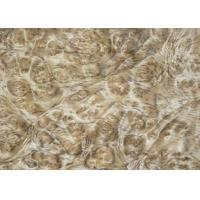 China 0.5 mm Mappa Burl Wood Veneer , Nardwood Thin Wood Veneer Sheets wholesale