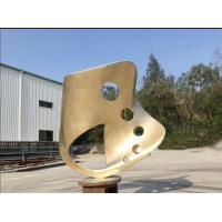 China Outdoor Abstract Steel Sculpture, Bronze art Sculpture For Garden ornaments wholesale
