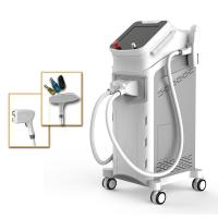 China Easy Install Yag Laser Hair Removal Machine , Multi Languages Professional Laser Machine wholesale