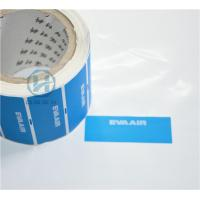 China Tamper Proof Warranty Void Labels Non - Residue With Custom Die Cut wholesale