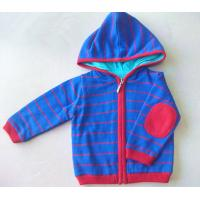 China Children's zipper sweater with hood wholesale