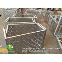 China 1000x2000mm  Aluminum Air Conditioner Cover , 2.5mm Window Air Conditioner Protector wholesale
