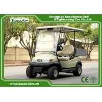Buy cheap 2 Passenger Electric Utility Carts / Cargo Golf Buggy Car With 350A USA Curties Controller from wholesalers
