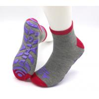 China Professional Non Slip Grip Socks / Skid Proof Socks Soft Fabric Any Logo Available wholesale