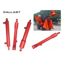 China GS Agricultural Hydraulic Cylinders , Double Acting With Piston Hydraulic Oil Cylinder wholesale