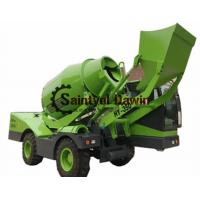 China 1.5 3.5 CBM Auto Self Loading Concrete Mixer Truck with PLC Weighing System wholesale
