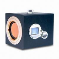 China Hi-Fi Speaker with USB Disk/SD Card, Stereo FM Radio and Built-in Rechargeable Battery wholesale