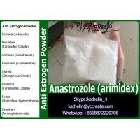 China Anti Estrogen Raw Powder Anastrozole (arimidex) For Steroid PCT CAS 120511-73-1 wholesale