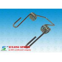 China Shock Absorber High Precision Double Torsion Springs 3mm Wire Nickel Plating wholesale