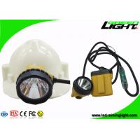 China High Brightness 25000lux Mining Cap Lights Rechargeable Safety Cable Flashing Lamp on sale