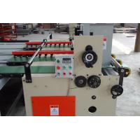 China Auto Rotary Slotting Machine With Auto Feeder Slotting And Creasing Joint Movement wholesale