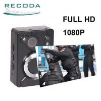 Buy cheap 15H Recording Night Vision 1080P WIFI Police Body Worn Camera Built-in GPS from wholesalers