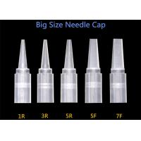 China Sharp Tattoo Needle Sets Needle Caps Tips Matched For 1R / 3R / 5R / 5F / 7F Size on sale