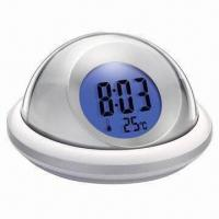 China LCD Backlight Talking Alarm Clock with 3 Different Alarm Tones on sale