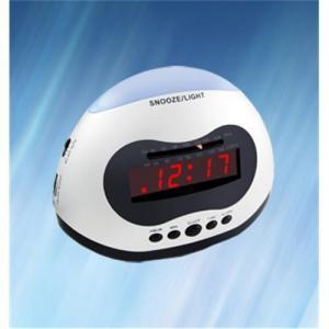 China 0.6 AM/FM LED Alarm Clock Radio wholesale