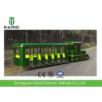 China 42 Seats Electric Trackless Train , Electric Tourist Train For Outside Recreation wholesale