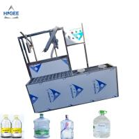 China SS 304 Food Grade 5 Gallon Water Bottle Filling Machine PLC Control 2200 *2000 * 2200 Mm wholesale