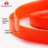 China Orange durable  TPU coated webbing strap wholesale