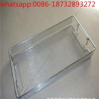 China 304 stainless steel wire mesh basket stainless steel micron mesh disinfection basket wholesale