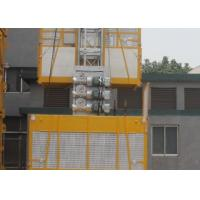 Buy cheap Custom SC200 Twin Cage Construction Material Hoists 3200kg 4.2 x 1.5 x 2.5m from wholesalers