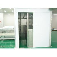 China S SERIES Personnel Entry Cleanroom Air Shower With 22-25m/S Wind Speed wholesale