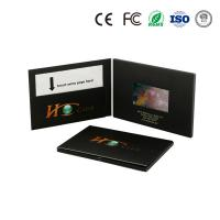 China 4.3/5/7inch video brochure/video greeting card/video book/video mailer on sale