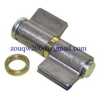 Welding hinge heavy duty H606A, with steel washer, material: steel, finishing:self color or zinc plating