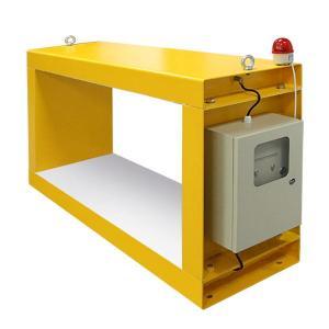 China Conveyor Metal Detector For Lumber / Woodworking Metal Detector Sensitivity Adjustment wholesale