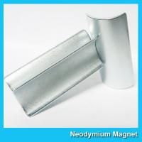 China Curved N52 Grade Ndfeb Permanent Magnet For Motor / Wind Turbines Generator wholesale
