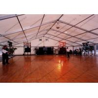 Quality Polygon Aluminum Frame Outdoor Event Tent , Outside Party Tents With Glass Door for sale