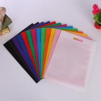 China Reusable Non Woven Fabric D Cut Bags Personalised Grocery Company Logo Eco Friendly wholesale