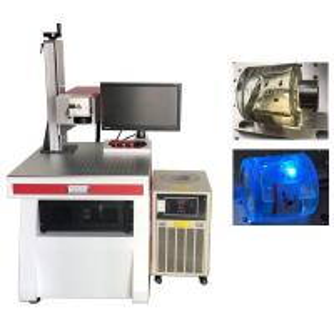 China Crystal Laser Marking Engraving Machine / Uv Laser Engraver For Glass Ceramics Jade wholesale