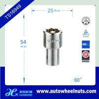 China Professional Hrc Hardness M22x1.5 Wheel Lock Nuts / Anti - Theft Bolt And Nut wholesale