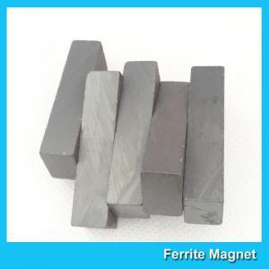 China Strong Hard Permanent Ferrite Block Magnets For Speaker / Automotive Sensors wholesale