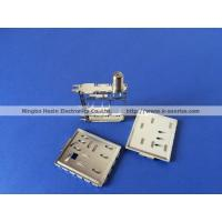 China F connector with shield cover wholesale