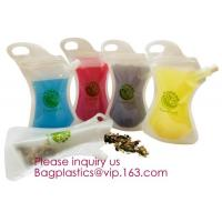 China Custom Printing Logo High quality Eco-friendly Reusable Soft drink bag with spout,stand up spout pouch doypack aluminum on sale