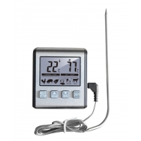 China Kitchen Digital Food Thermometer with Timer on sale