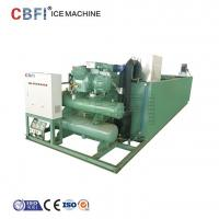 Buy cheap Ice block Making Machine / Restaurant Ice Maker Machine R22 / R404a Refrigerant from wholesalers