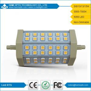 China R7S LED light 8W 5050 SMD 540-630LM 2700-3200K Warm White Light LED R7S (85-265V) wholesale